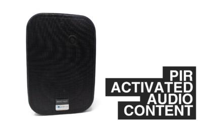 PIR Activated Audio Content