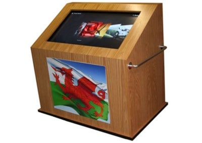 Interactive Kiosk & Software – Welsh Assembly Government