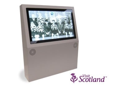 Wall Mounted Kiosk – Clydebank Museum