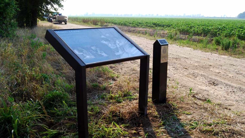 Solar Audio Post at Rohwer Relocation Centre, Arkansas