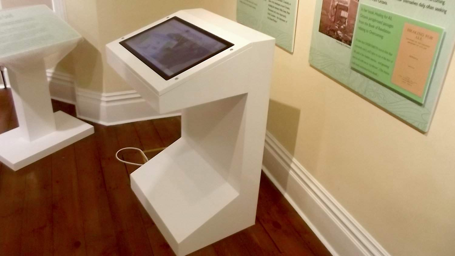 Multi Touch Screen Kiosk by Blackbox-av for Panacea Museum