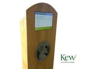Bespoke U-Turn Kiosk – Wakehurst Place