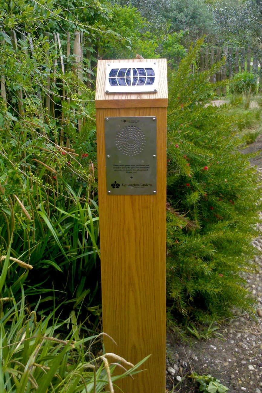 Princess Diana Memorial Playground with Blackbox-av Solar Audio Post close