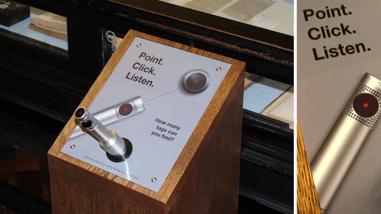 Buxton Museum Audio Pen Kiosk