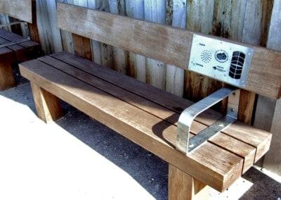 Solar Audio Bench – Aberavon Seafront