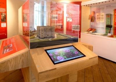 Free-Standing Kiosk – Panacea Museum