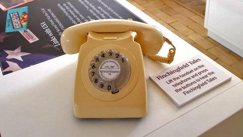 Finchingfield Guildhall period telephone