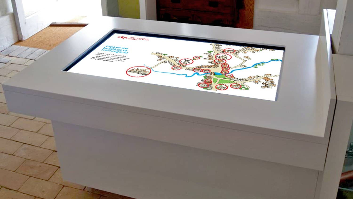 Grand Multi Touch Table with Bespoke Software