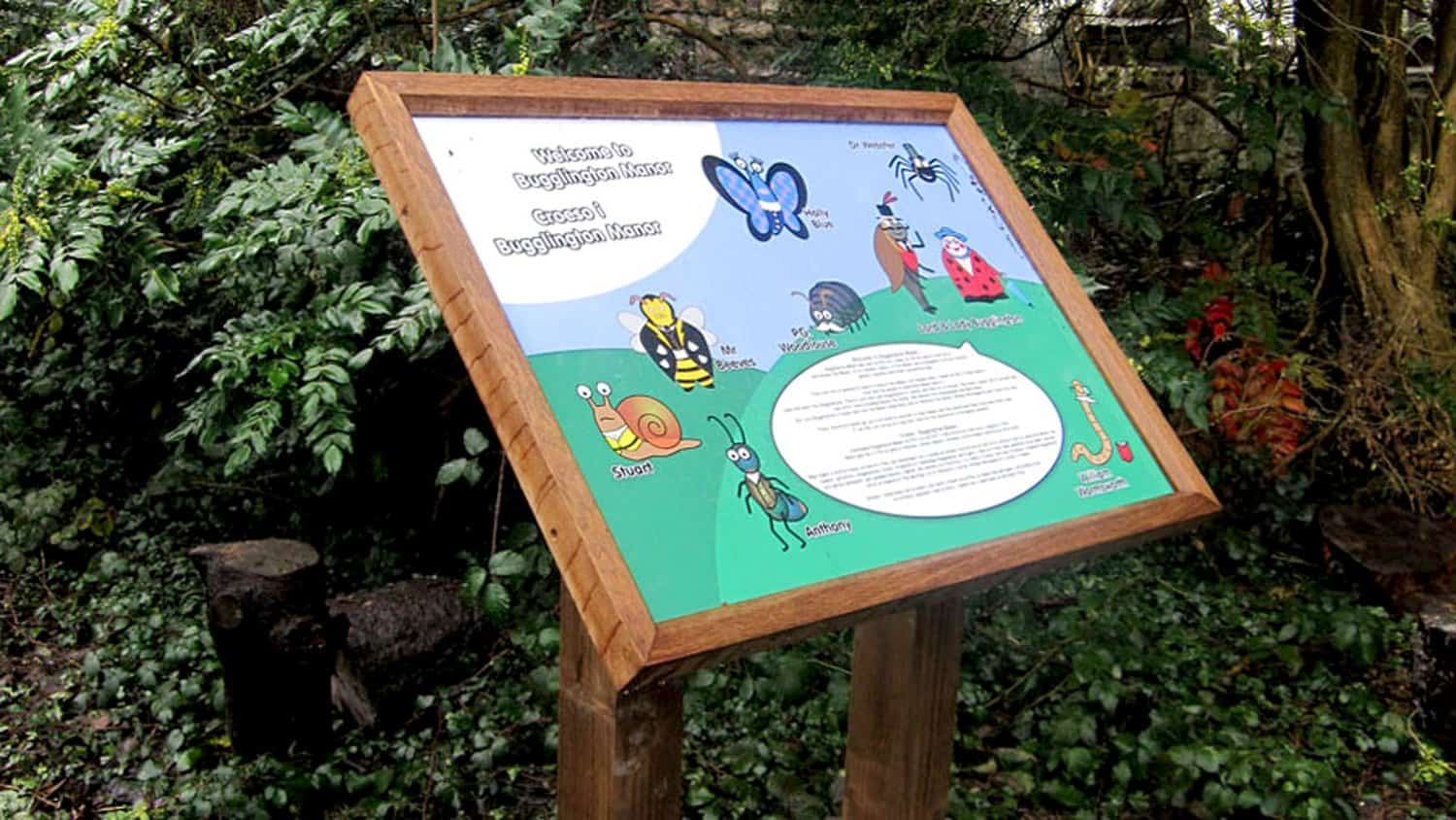 Llanyrafon Manor Signage Design Bugglington manor