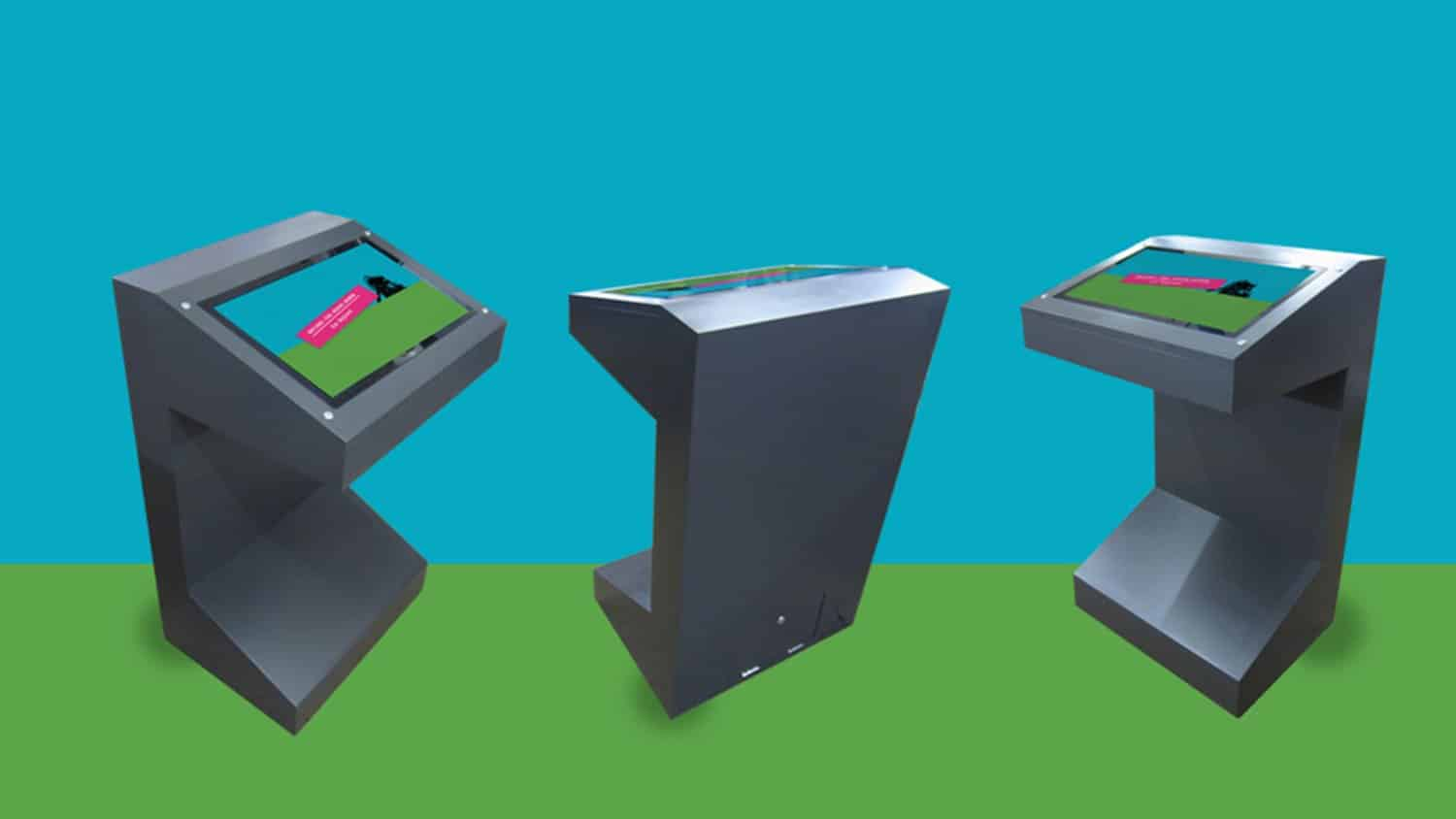 Free Standing Museum Kiosks and interactive software