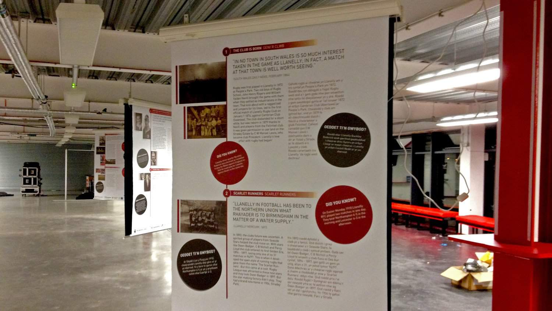 Signage Design Scarlets Heritage Trail