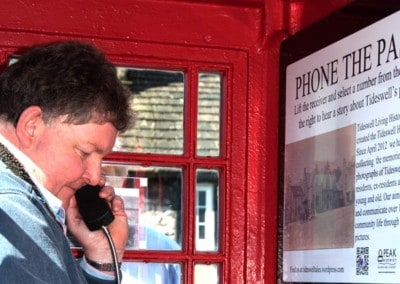 Oral History Phone Box – Tideswell Living History