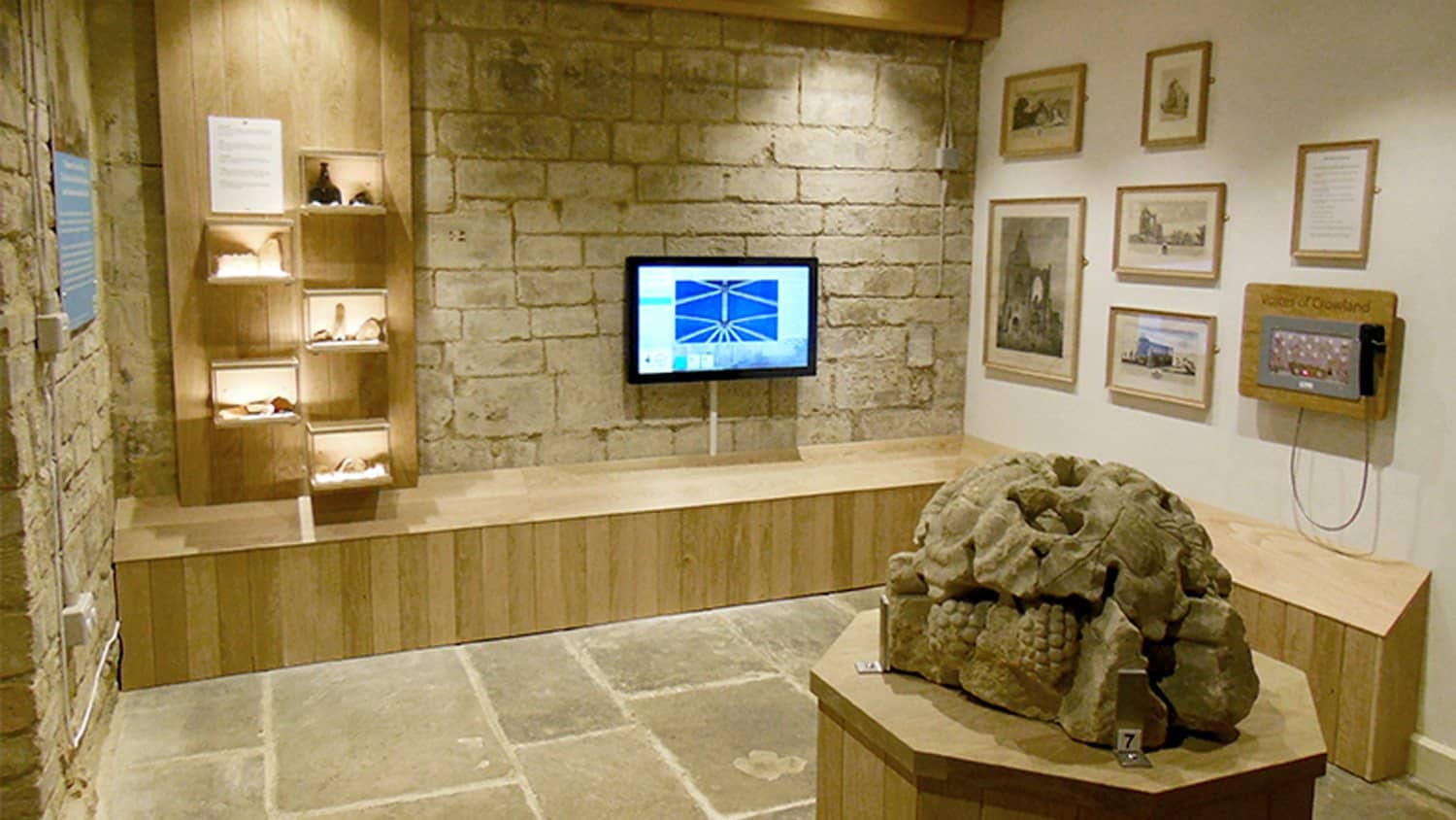 Museum Installation Crowland Abbey