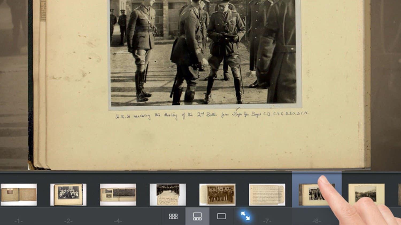 Image Gallery Viewer iPad Heritage Interactive