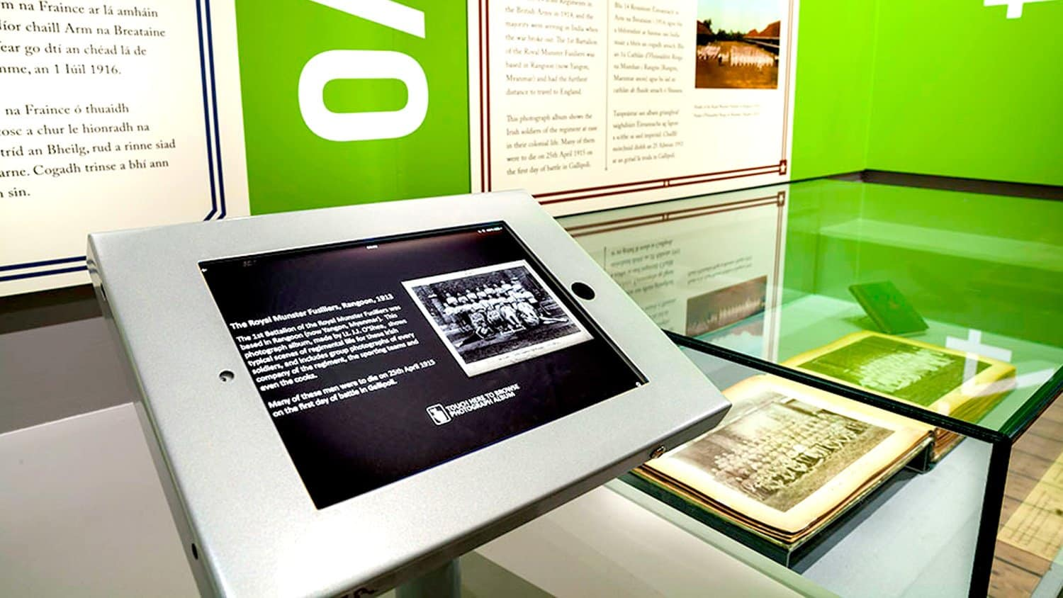 Ipad Bespoke Museum Software Gallery Archive National Museum of Ireland