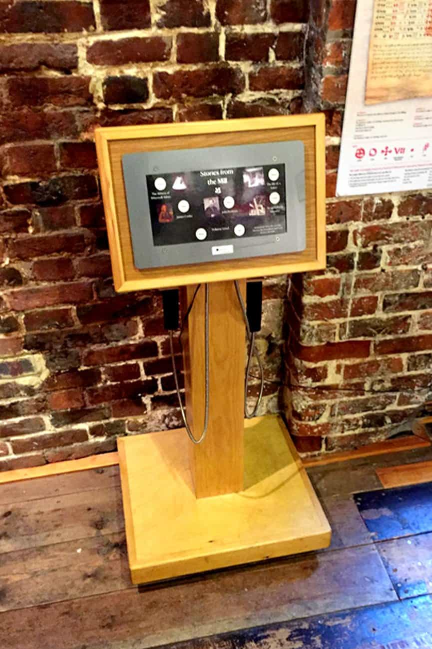 AudioFrame15 Museum Audio Point WInchester City Mill