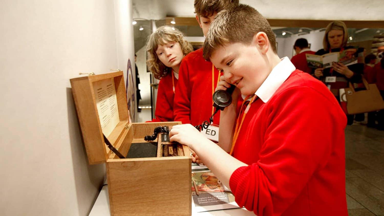 Bespoke Trench Telephone Museum Audio
