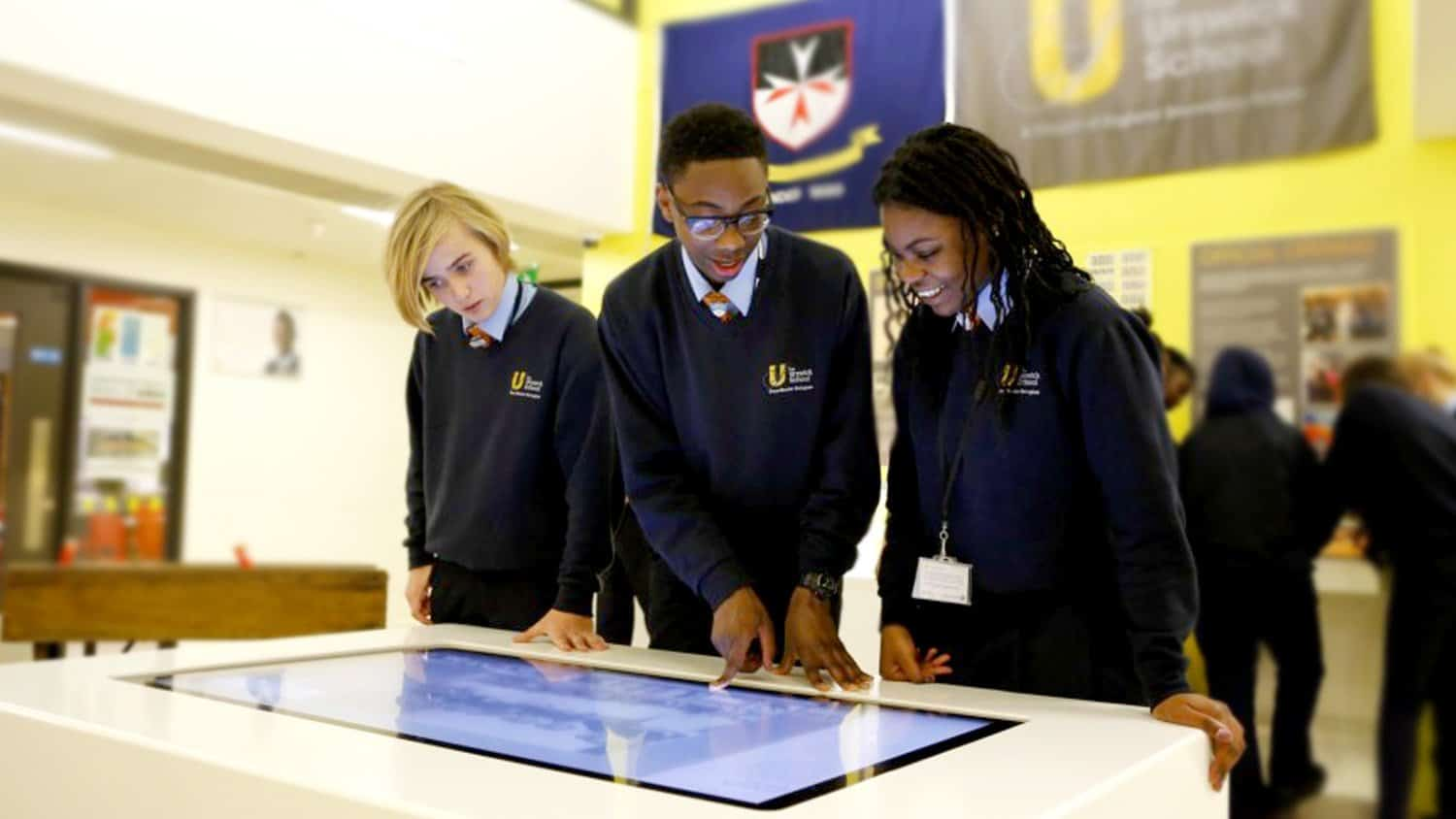 Multi-touch table Grand Urswick School Museum