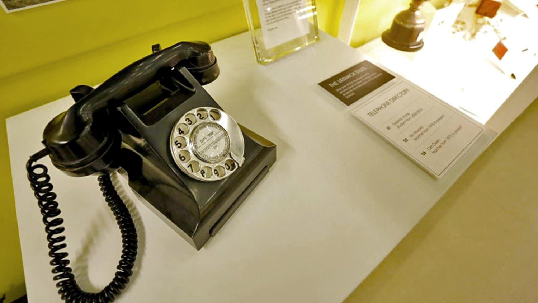 Period Telephone Audio Point Urswick School Museum