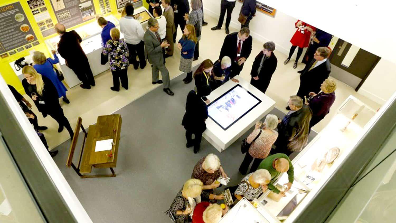 Urswick School Museum Hardware Installation