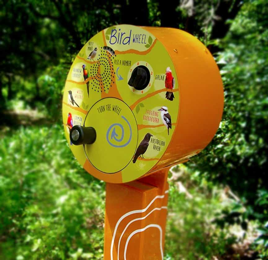 U-Turn Round Bird Wheel Audio Player Adelaide