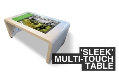 'Sleek' Multi Touch Table – Product Demo