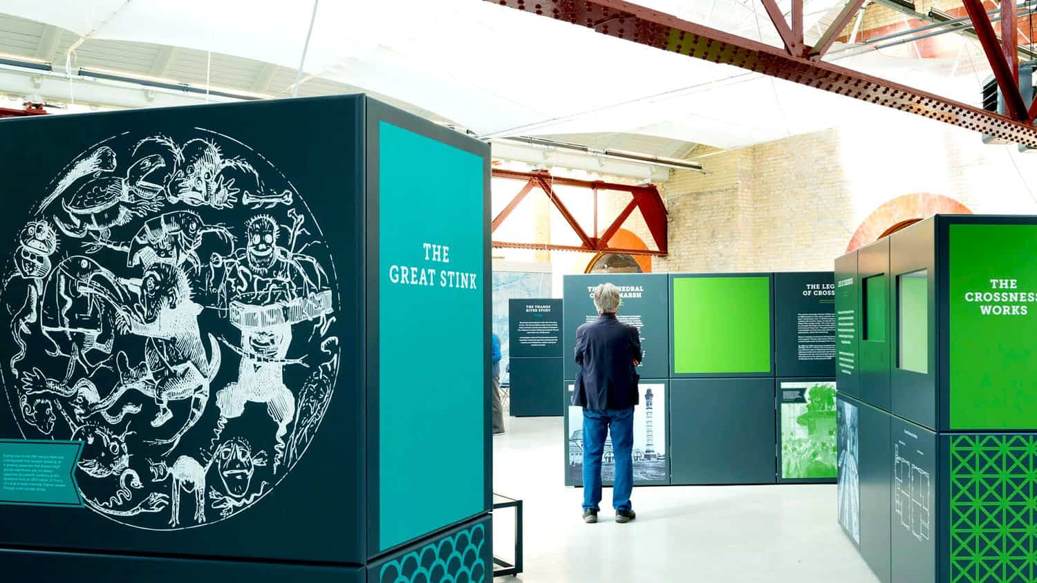 Crossness Pumping Station Interpretation By Panelock Displays, Designmap & Blackbox-av