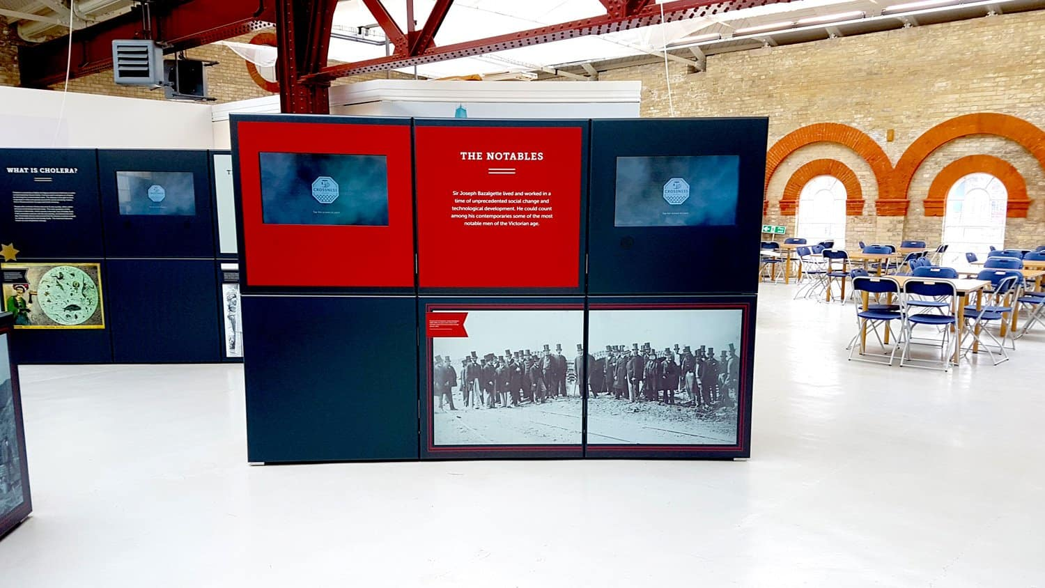 The Great Stink Exhibition By panelock Displays, Designmap and Blackbox-av