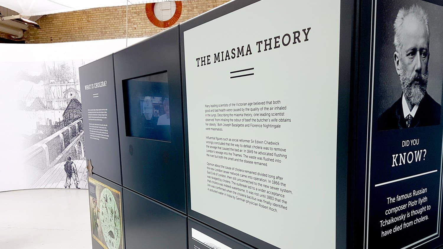 The Miasma Theory At Crossness Pumping Station