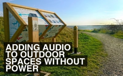 How To Add Audio To Outdoor Spaces Without Power