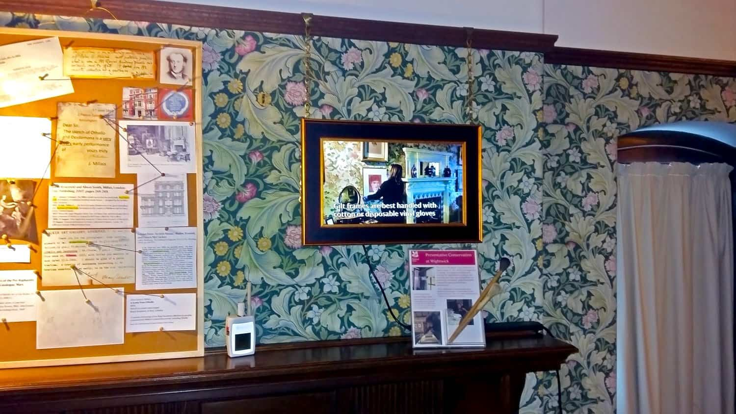22 Inch All-In-One Touchscreen at Wightwick Manor and Gardens