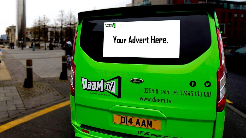 Daam TV Van Back Visuals by Blackbox-av