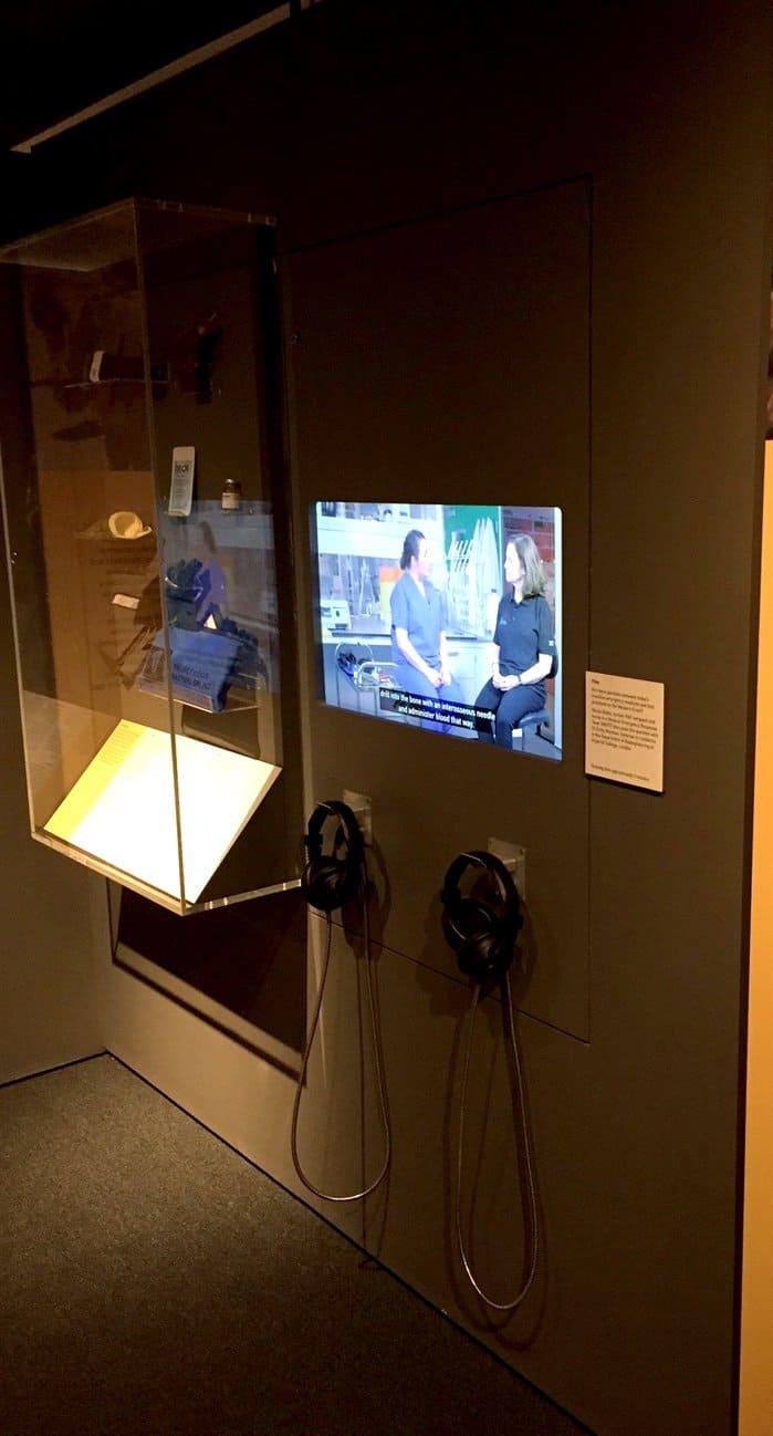 Double Cup Headphones by Blackbox-av in Science Museum, London