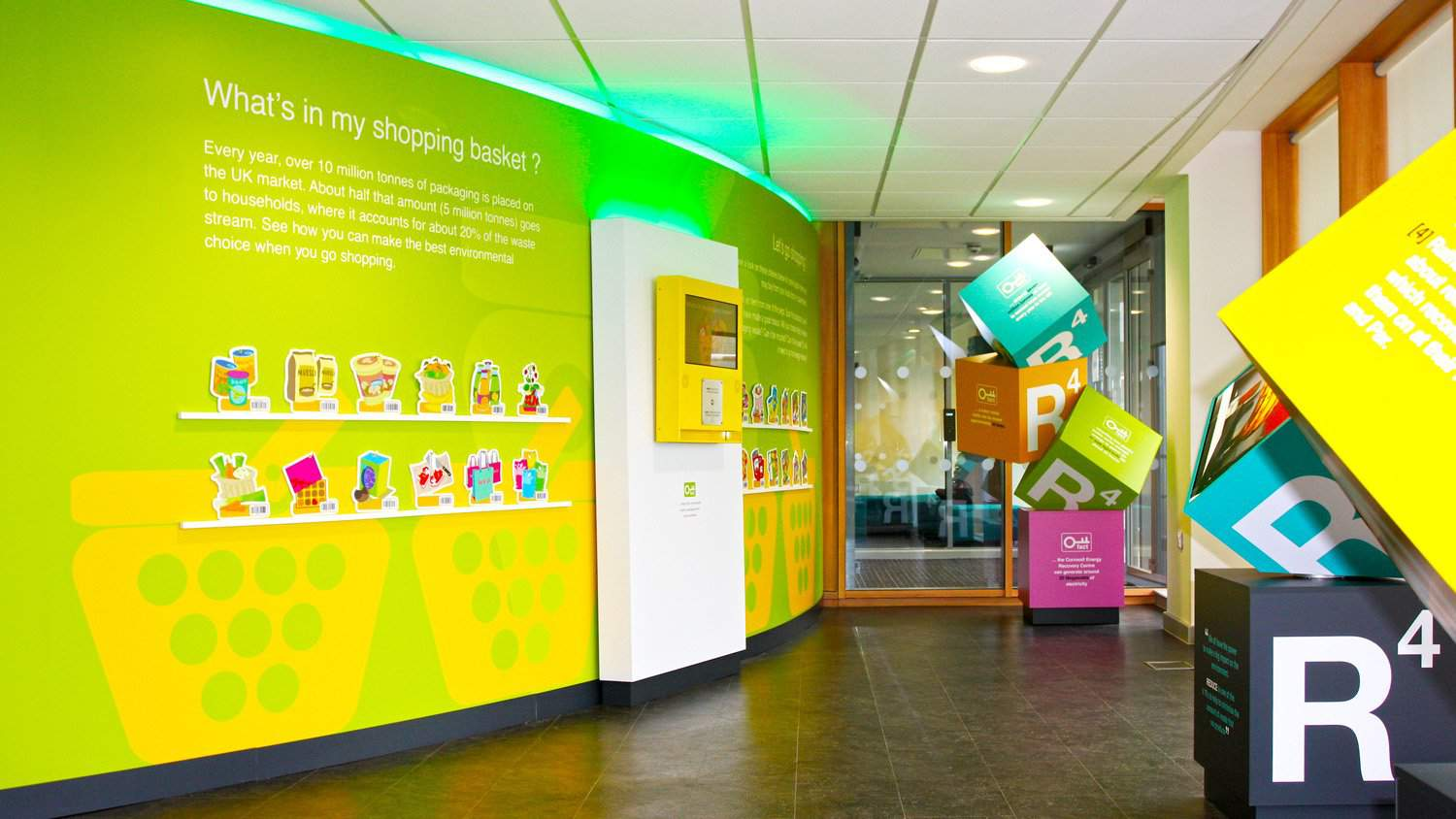 Bespoke Installation for Cornwall Visitor Centre by Blackbox-av and Freelance Design Partnership