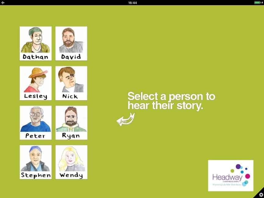 Headway iPad Gallery software