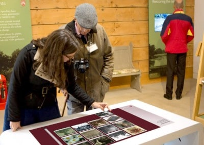 'Sleek' Multi-Touch Table & Software – Spetchley Park & Gardens