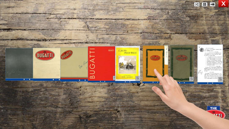 eBooks Book Browsing Software from Blackbox-av for Bugatti Trust