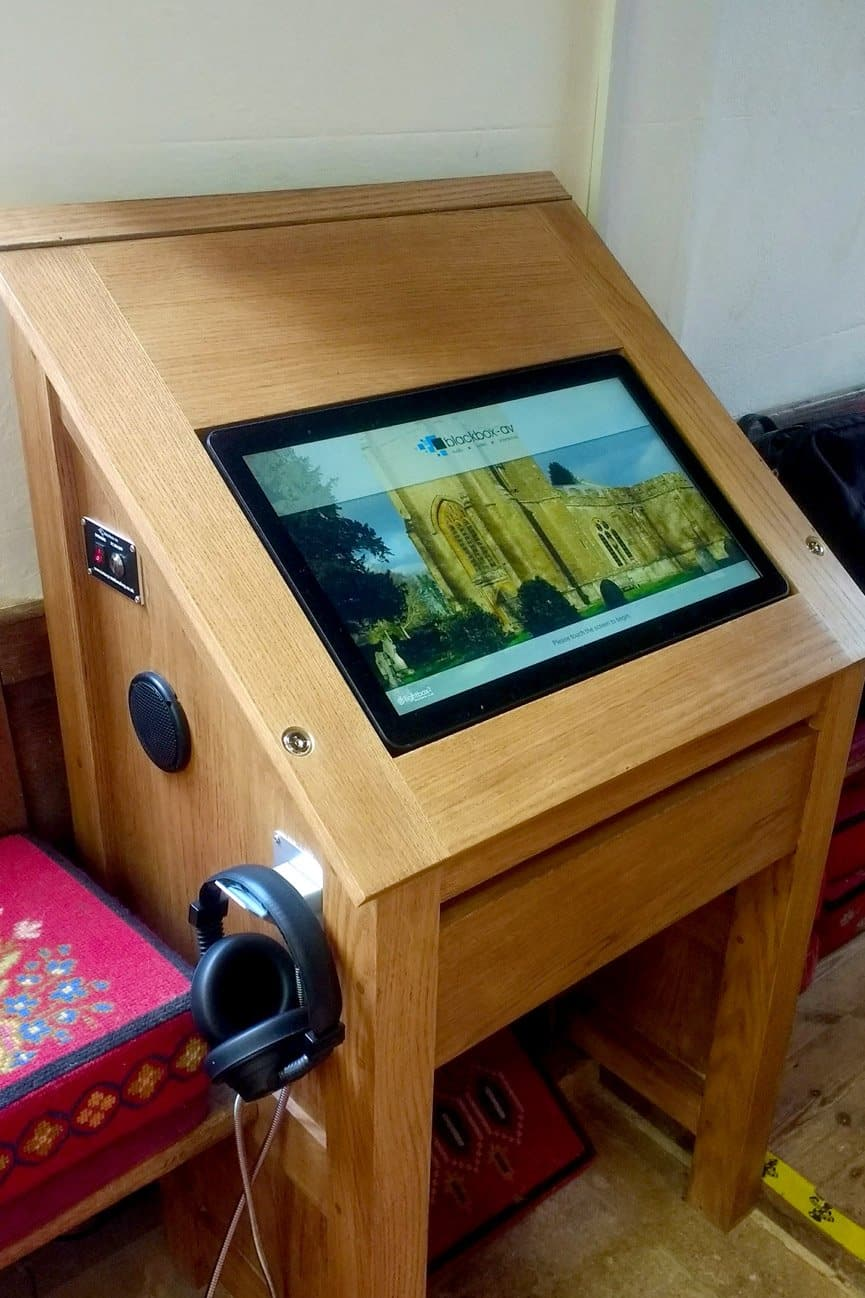 22 Inch All-in-One Touchscreen and Lightbox 2 at St George's Church