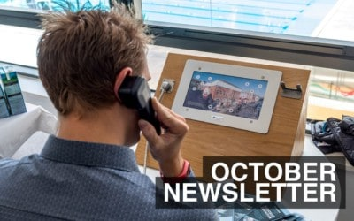 October Newsletter – What We've Been Up To