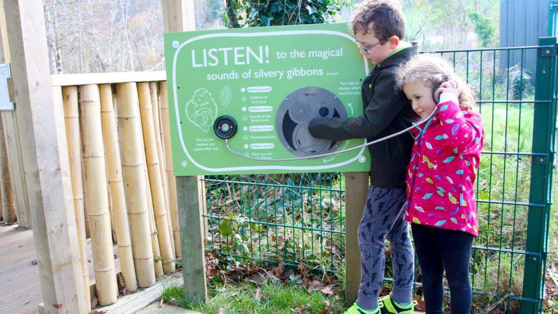Blackbox-av Oversized U Turn Round Panel at Curraghs Wildlife Park