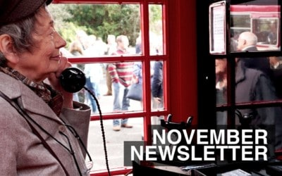 November Newsletter 2017 – What We've Been Up To