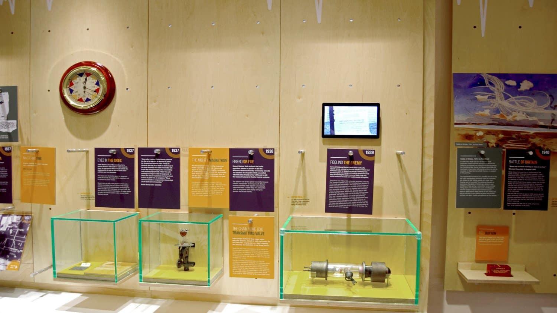 Bawdsey Radar Exhibit Centre Timeline in Suffolk