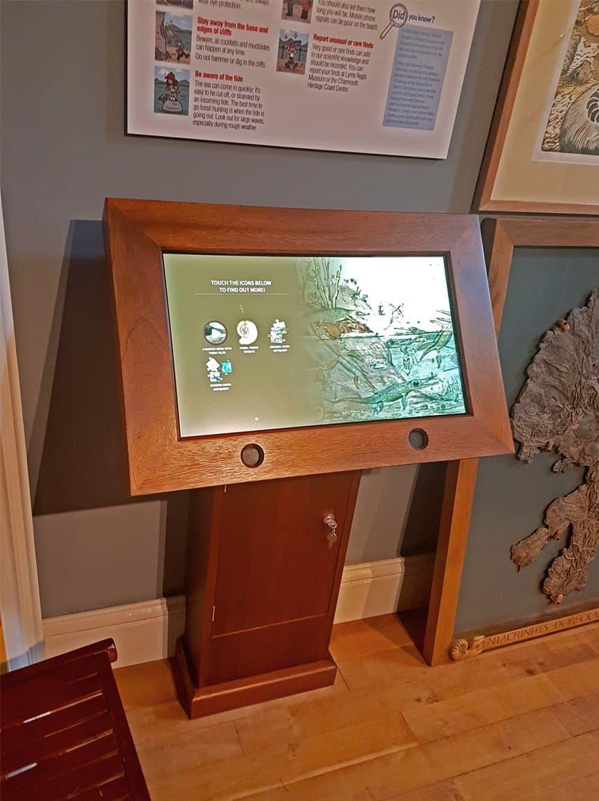 Lyme Regis Homescreen Software by Blackbox-av