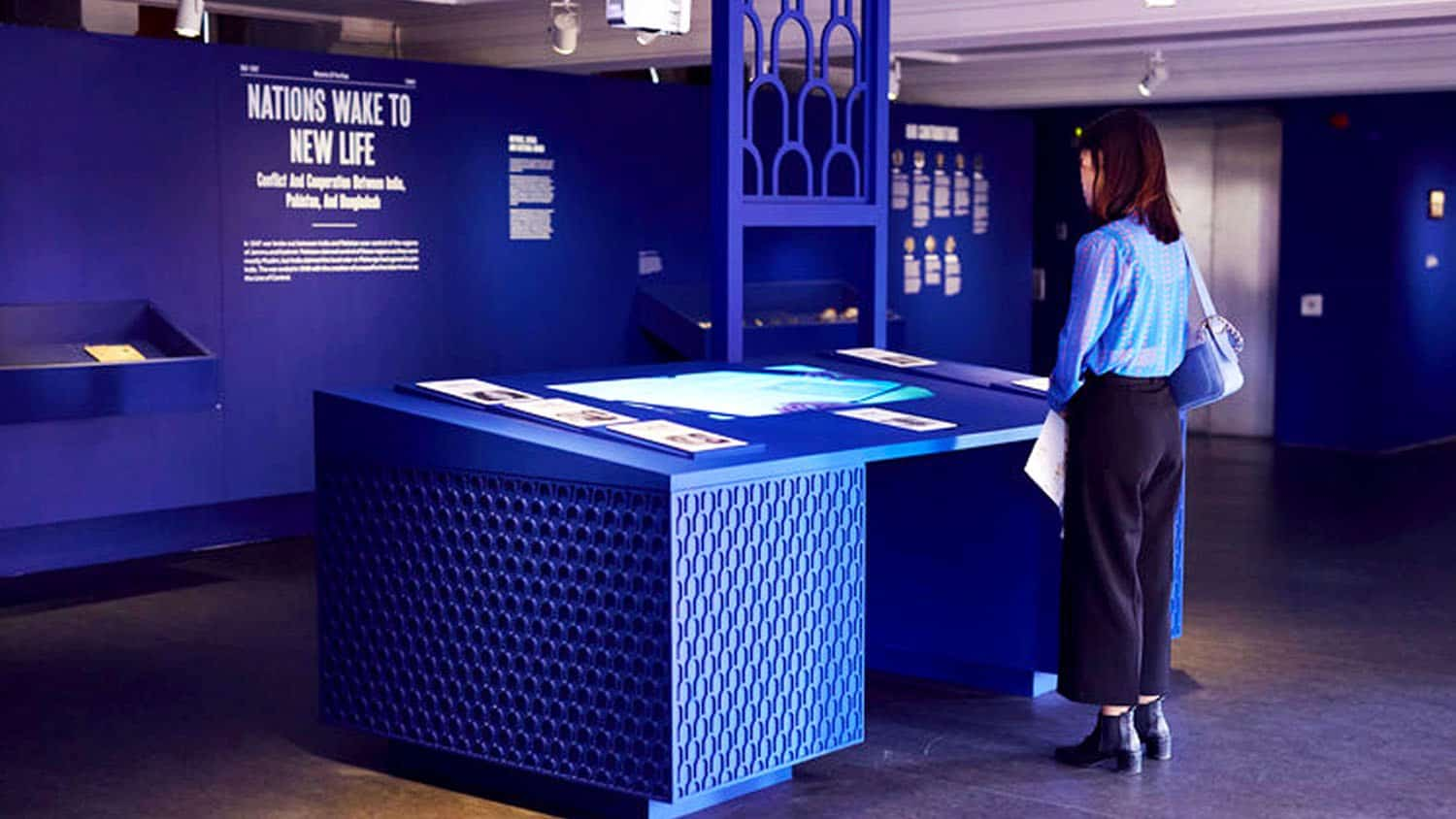 Manchester Museum Installation by Stand and Stare