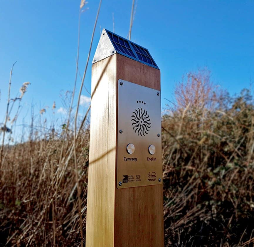 RSPB Solar Audio Post in Conwy, West Wales