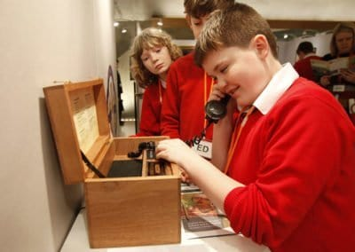 Trench Telephone – The Scottish Parliament