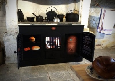Replica Victorian Kitchen Range – Llanyrafon Manor