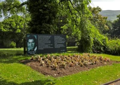 Richard Burton Signage – Talbot Memorial Park
