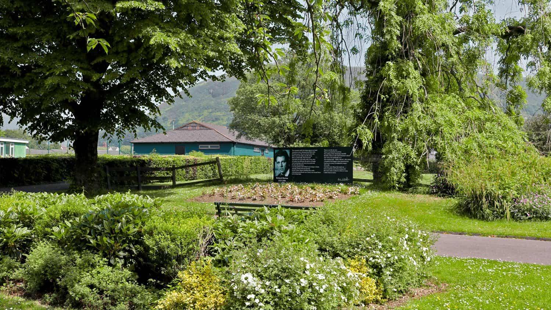 Talbot Memorial Park's Richard Burton Signage