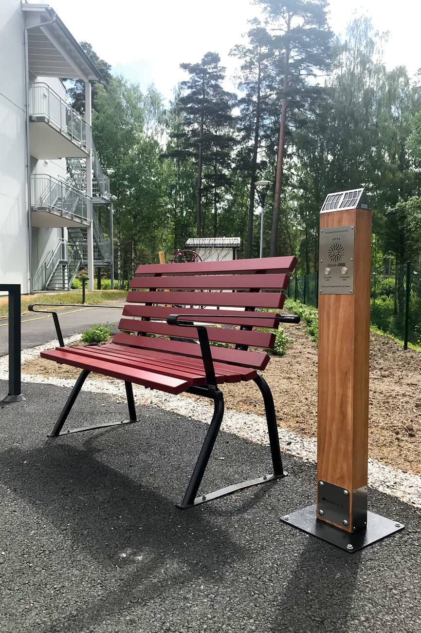 Solar Audio Post close up at Sodertalje